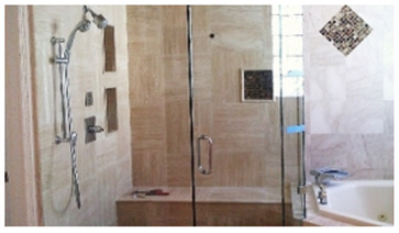 Change The Complexion Of Your Bathroom Install A Shower Door Today!